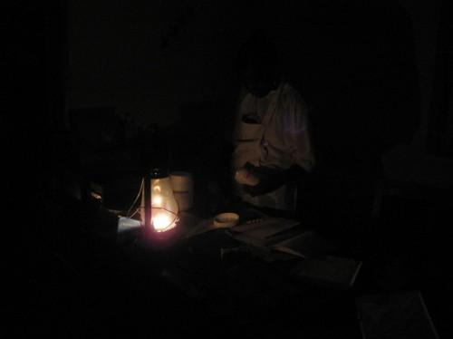 Sierra Leone, Serabu, Strom, Licht, Dunkelheit