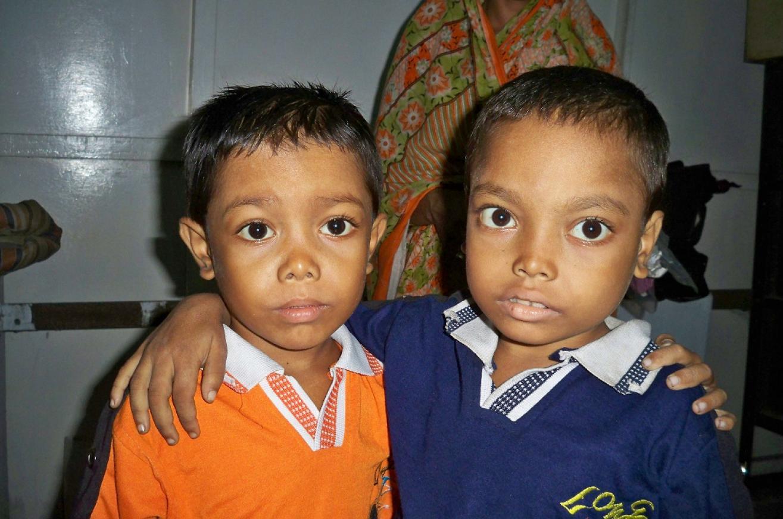 Indien Kalkutta Kinder krank Thalassämie