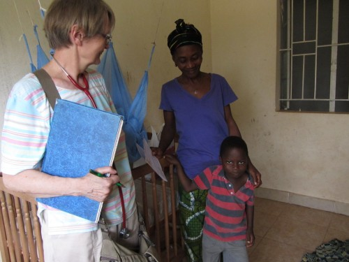 Serabu Sierra Leone Kinderärztin Visite