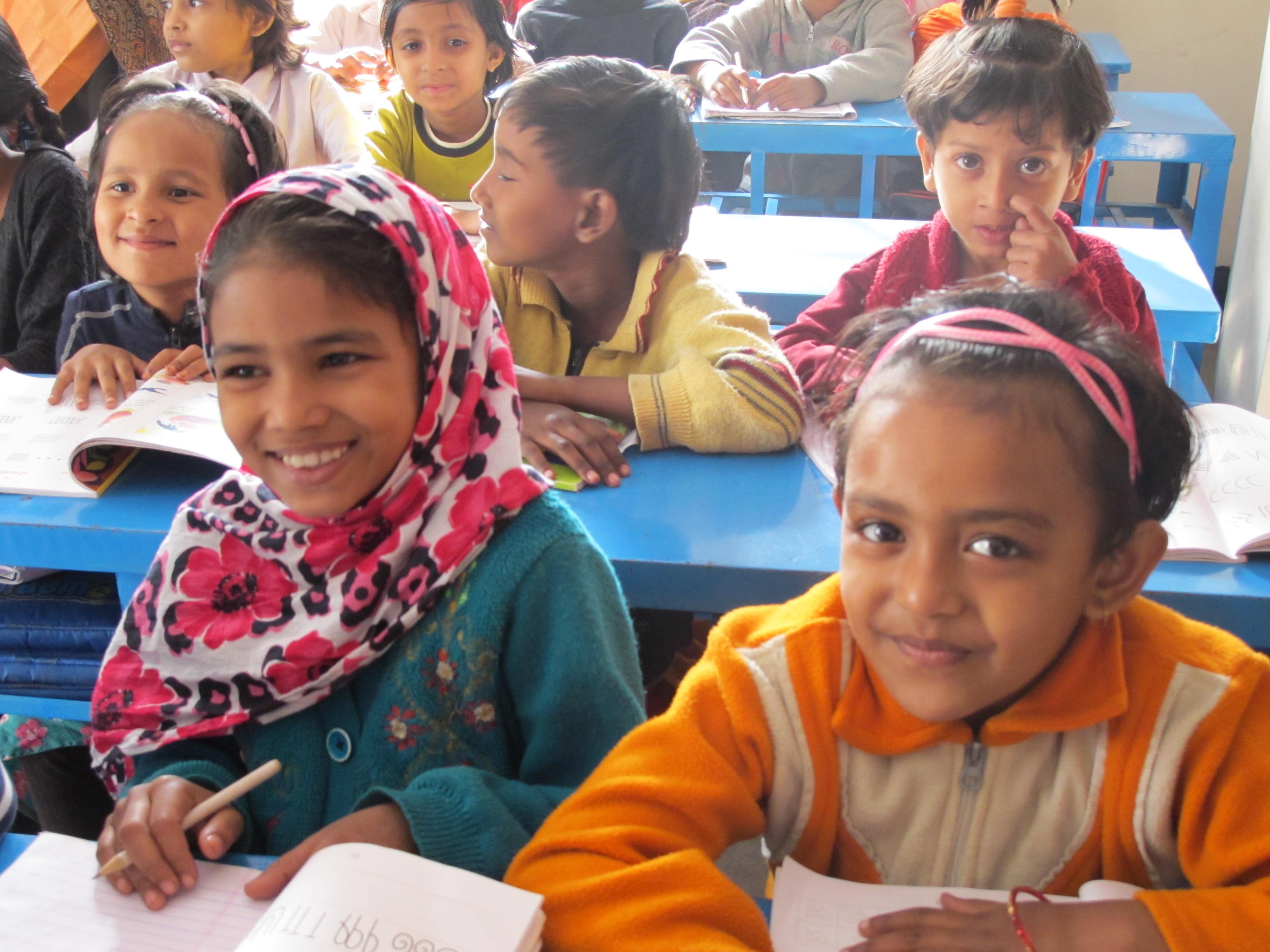 Mädchen in der Schule
