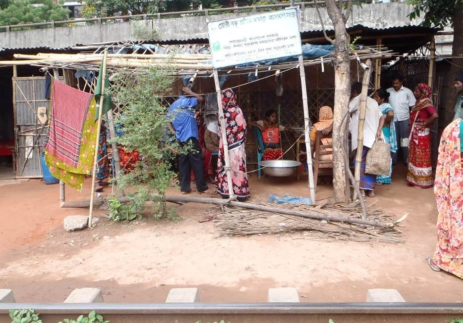 Die Ambulanz der German Doctors im Slum Kilgoan 2
