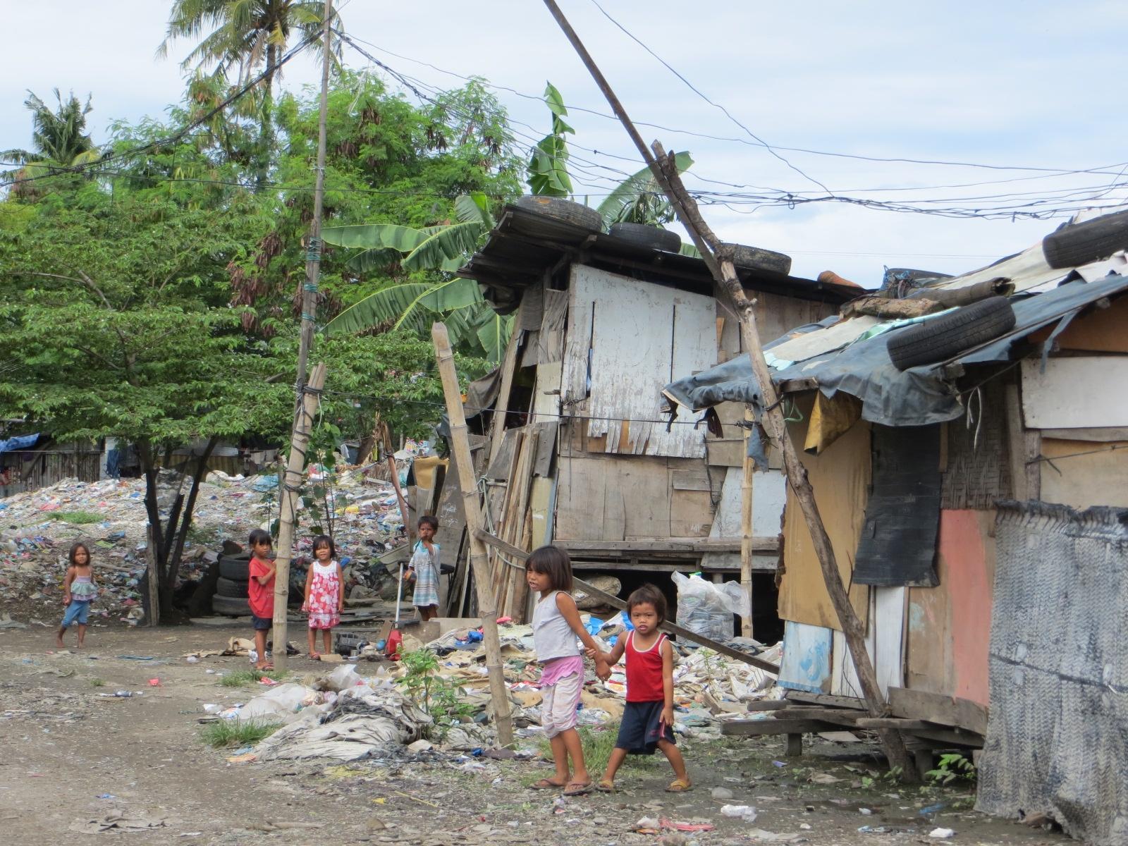 Leben auf der Dumpsite von Umapad