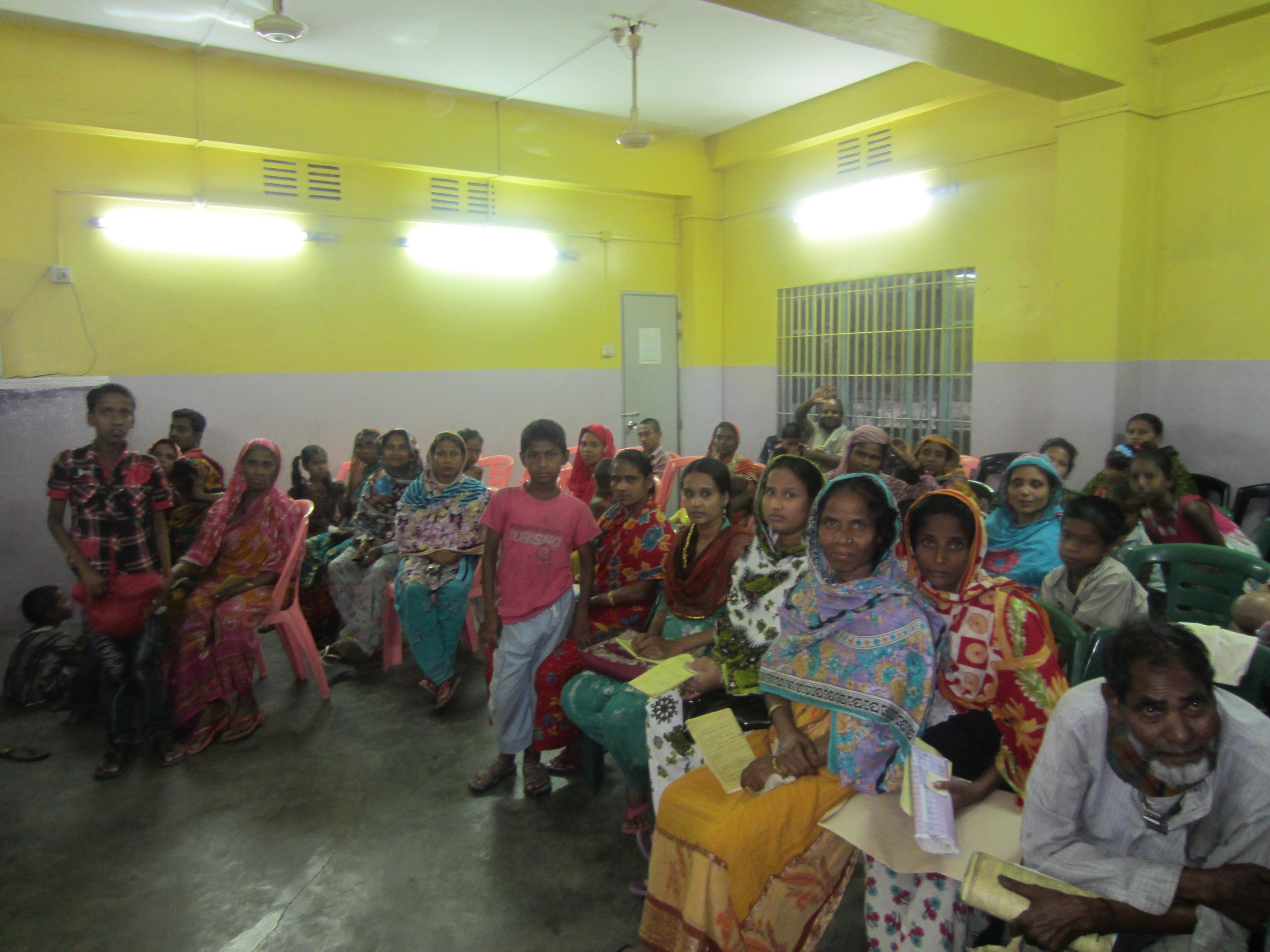 Die Ambulanz der German Doctors in Chittagong