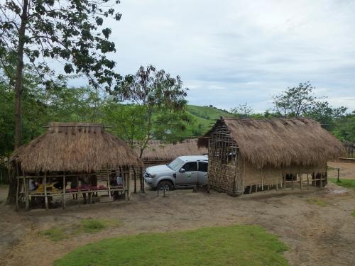 Mangyana-Dorf auf der Südtour
