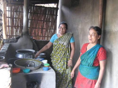 Unsere Köchinnen im Feeding-Programm
