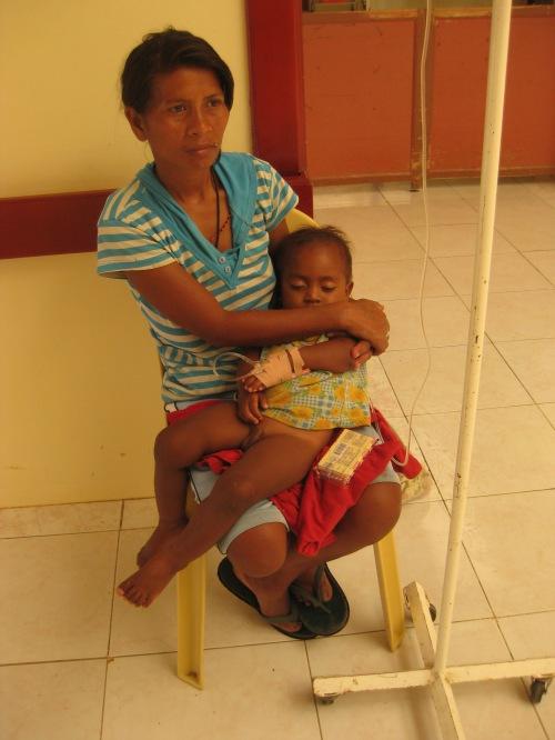 Einer unserer stationären Patienten