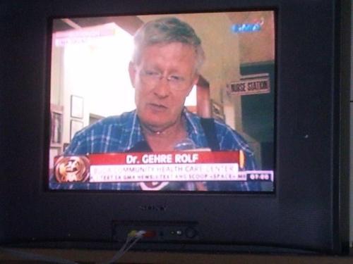 Dr. Rolf Gehre im TV