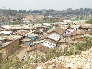 Mathare Valley_Eindruck von oben