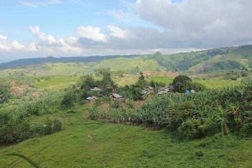 Die philippinische Insel Mindanao