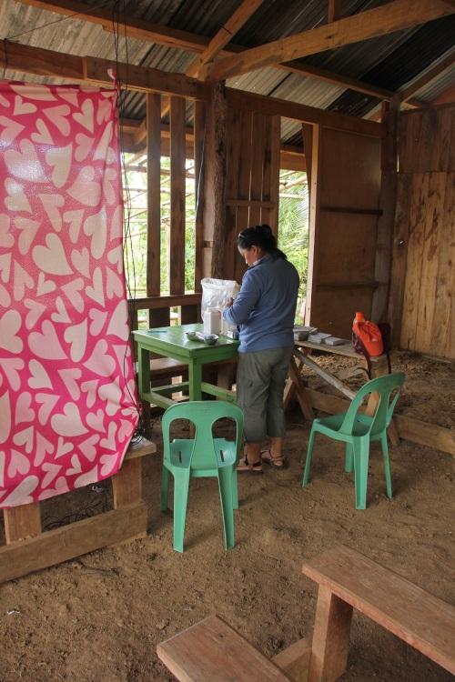 Arztbehandlung auf Mindanao