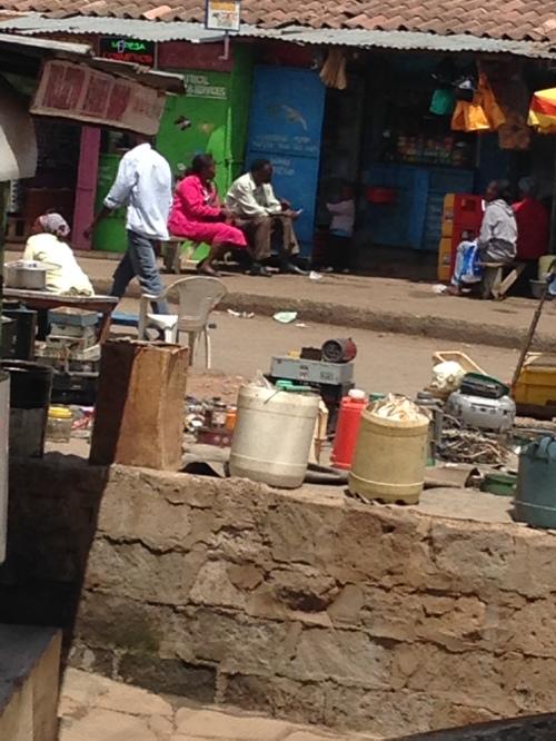 Mathare Valley Slum Nairobi