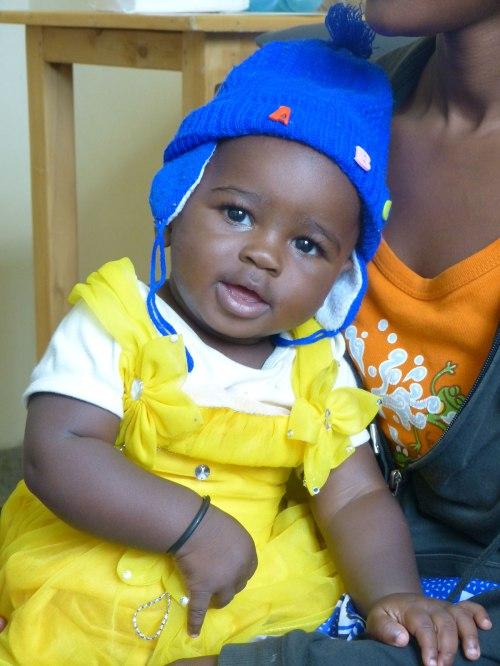 Kind aus Kenia