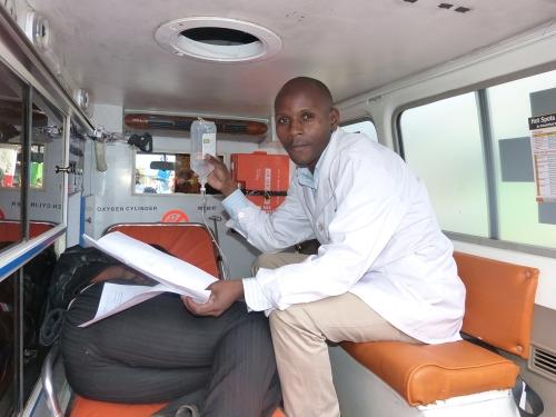 Ambulanzfahrzeug Nairobi