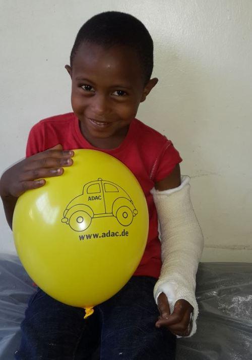 Kind aus Nairobi
