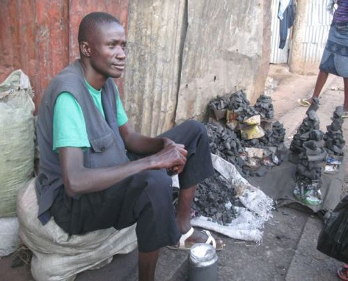 Arbeiten im Slum