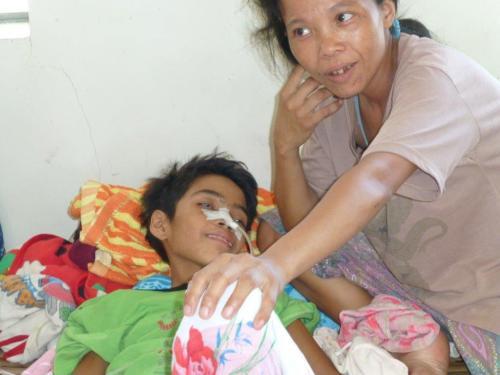 Krankenhaus auf den Philippinen