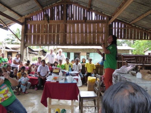 Hilfsprojekt Philippinen