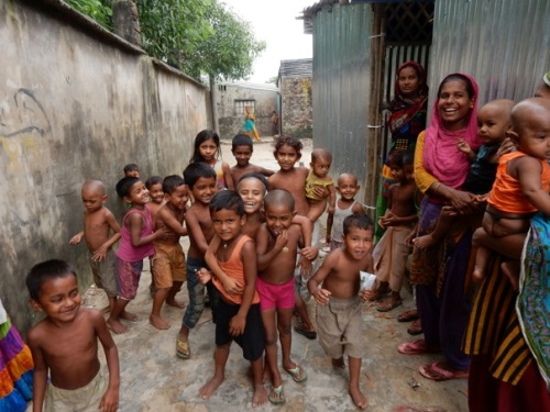 Slum in Bangladesch
